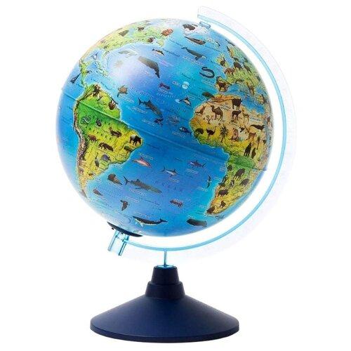 Глобус зоогеографический Globen Детский Классик Евро 250 мм (Ке012500269) синий