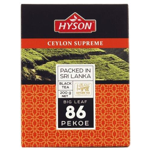 Чай черный Hyson Ceylon supreme 86 Pekoe, 200 г