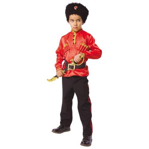 Купить Костюм Батик Казак (1044 к-18), красный/черный, размер 116-60, Карнавальные костюмы