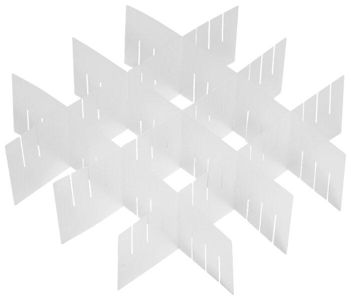 Купить Разделители для ящиков UniStor MECCANO. В наборе 6 разделительных полосок по низкой цене с доставкой из Яндекс.Маркета (бывший Беру)