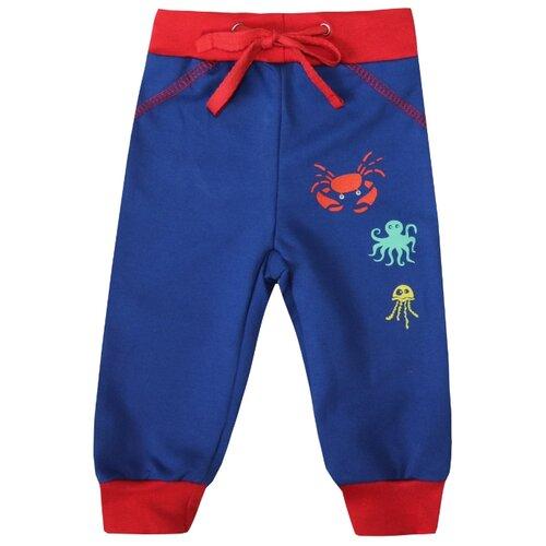Купить Брюки KotMarKot размер 74, темно-синий, Брюки и шорты