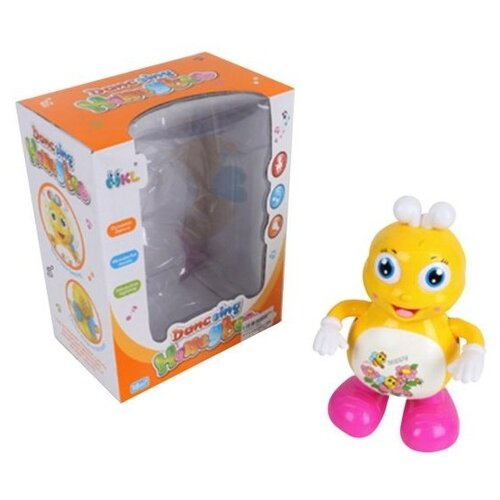 цена на Развивающая игрушка Наша игрушка Пчелка 3091 желтый/розовый