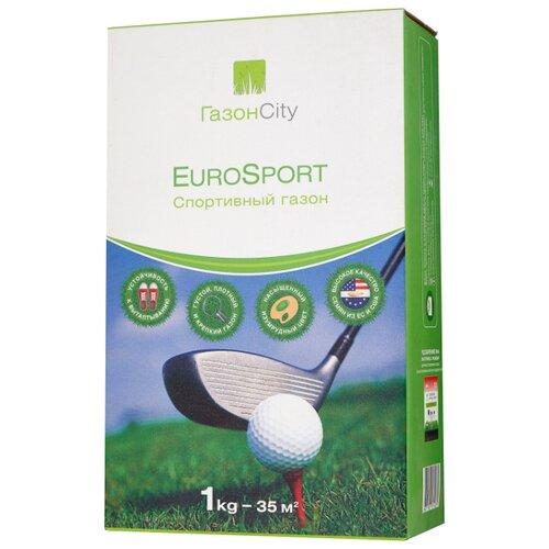 ГазонCity EuroSport Спортивный газон, 1 кг газон изумрудный ковер гавриш 0 6 кг