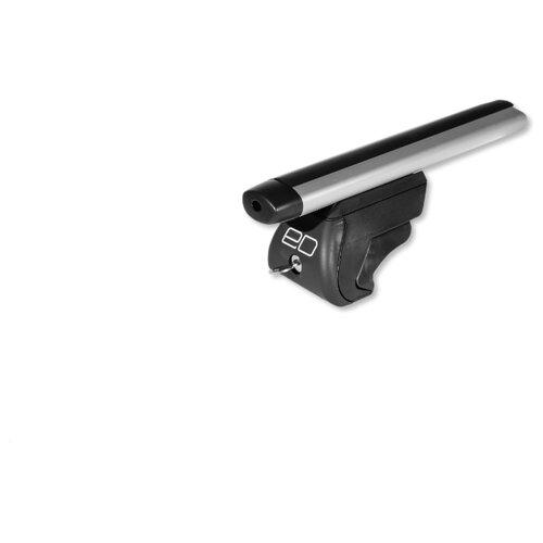 Комплект дуг и опор Евродеталь на интегрированные рейлинги 1.1 м (ED2-112F + ED7-610B) серый