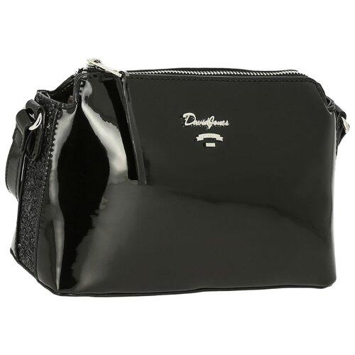 Сумка кросс-боди DAVID JONES 5837-1, искусственная кожа сумка женская david jones цвет серый 5643 1 d grey