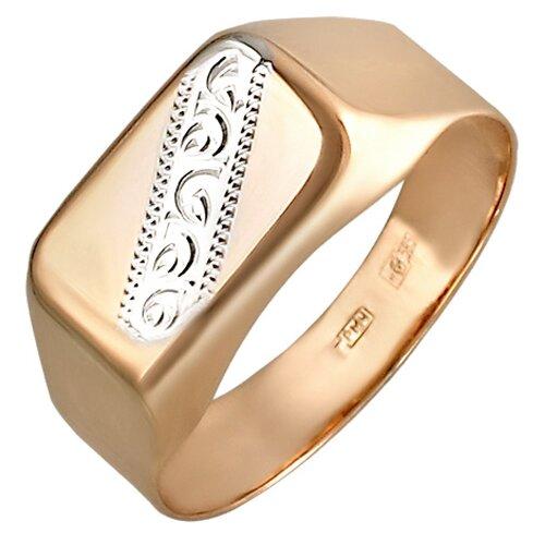 Эстет Кольцо из красного золота 01Т718177, размер 17.5