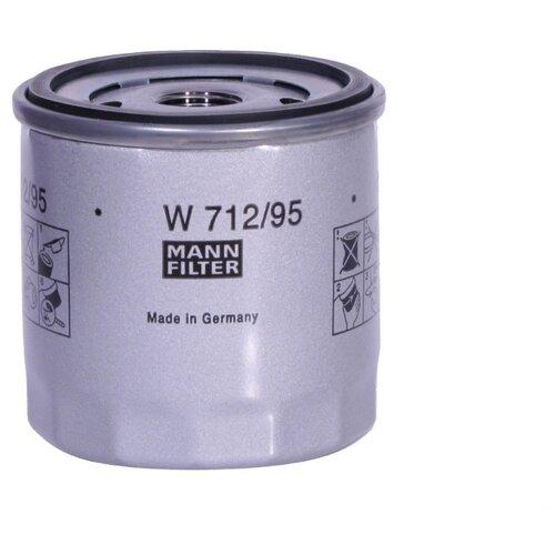 Масляный фильтр MANNFILTER W 712/95 масляный фильтр mannfilter w 712 4