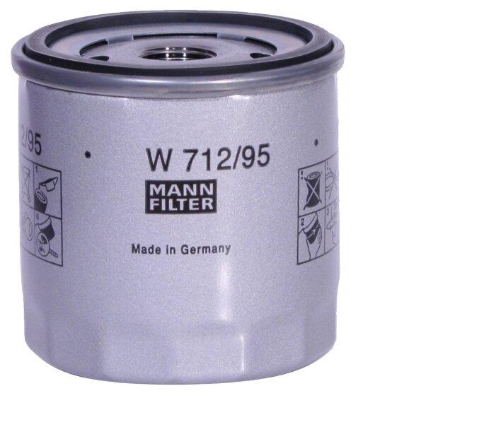 Масляный фильтр MANNFILTER W712/95