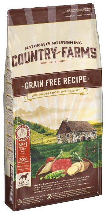 Корм для собак Country Farms говядина
