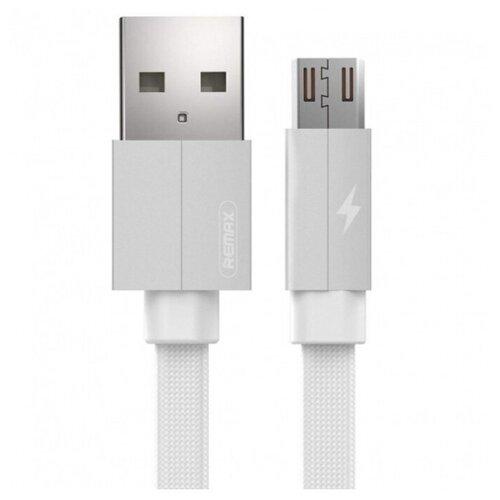 Кабель Remax Kerolla USB - microUSB (RC-094m) 1 м белый кабель remax chips желтый