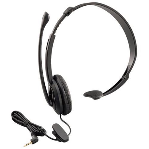 цена на Проводная гарнитура Panasonic RP-TCA400E-K черный
