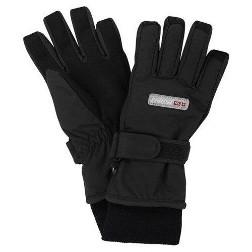 Купить Перчатки Reima размер 7, dark grey, Перчатки и варежки