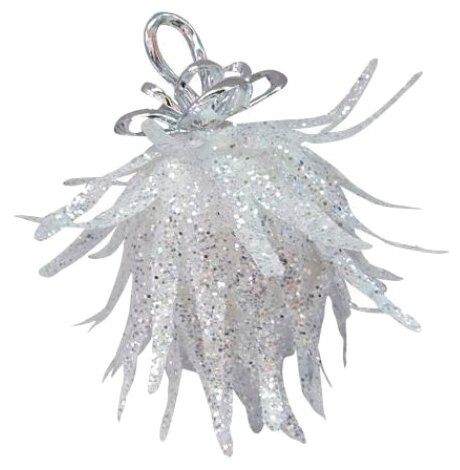 Новогоднее фигурное украшение с блестками, 9 см Snowmen