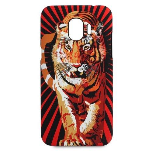 Купить Чехол Pastila Luxo Animals soft touch для Samsung Galaxy J2 (2018) тигр