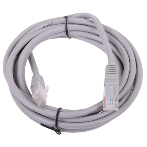 Патч-корд Telecom NA102--3M RJ-45 (M) - RJ-45 (M) 3 м CAT5e серый