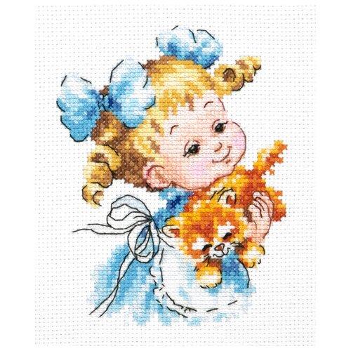 Купить Чудесная Игла Набор для вышивания Ты мой маленький! 10 х 13 см (35-20), Наборы для вышивания