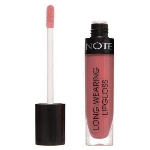 Купить Note Блеск для губ Long Wearing Lipgloss стойкий, 23 moody