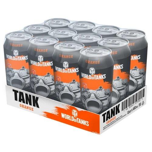 Энергетический напиток TANK Energy Orange, 0.45 л, 12 шт.