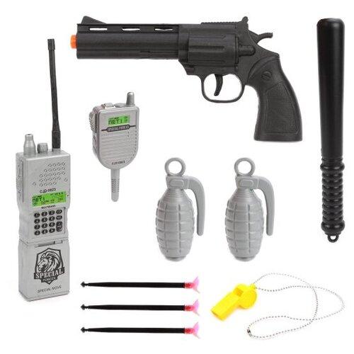 Купить Игровой набор Наша игрушка Полиция 88677, Полицейские и шпионы