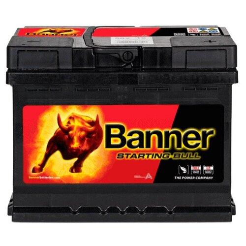 Автомобильный аккумулятор Banner Starting Bull 562 19