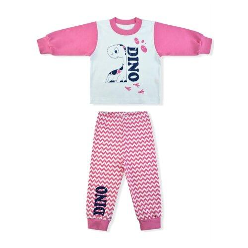 Купить Пижама LEO размер 98, белый/розовый, Домашняя одежда