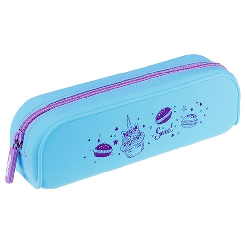 Купить Berlingo Пенал Sweets (PM07306) голубой, Пеналы