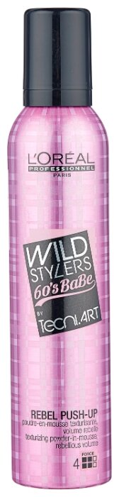 L'Oreal Professionnel пудровый мусс Тecni.ART Wild Stylers Rebel Push-Up