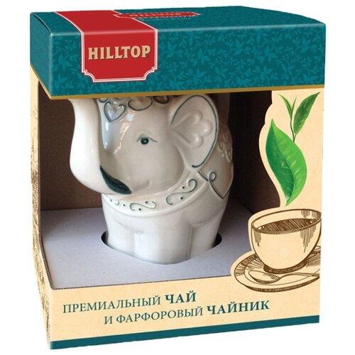 Чай черный Hilltop Слон Топаз Подарок Цейлона подарочный набор, 80 г чай hilltop коллекция 50г черный слон керамика