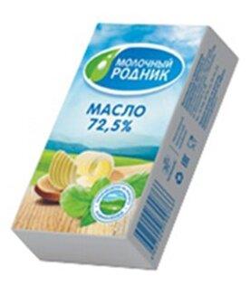 Молочный родник Масло сливочное 72.5%, 180 г