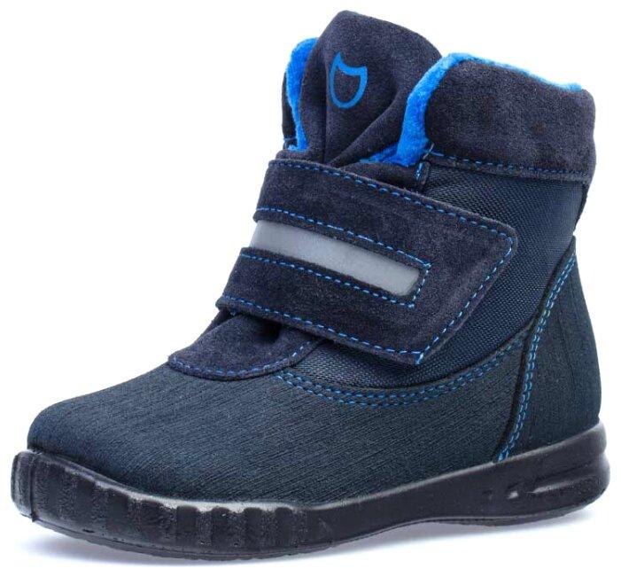 Купить Ботинки КОТОФЕЙ размер 25, синий по низкой цене с доставкой из Яндекс.Маркета