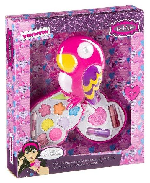 Набор детской декоративной косметики BONDIBON ВВ2265 Eva Moda, BOX 28,5*23,5*5 см