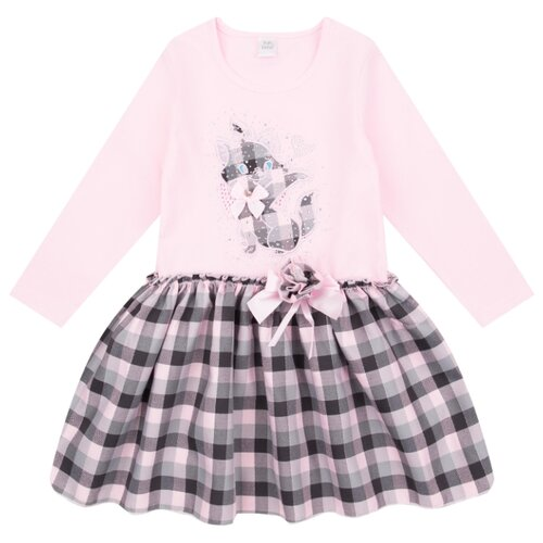 Купить Платье Fun time размер 86, розовый, Платья и юбки