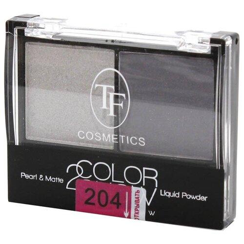 TF Cosmetics Тени для век Color Show 204 серебряный/лавандовый