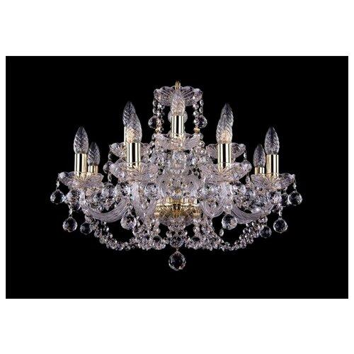 Фото - Bohemia Ivele Crystal 1406 1406/8+4/195/G/Balls люстра bohemia ivele crystal 1406 1406 8 141 g balls e14 320 вт