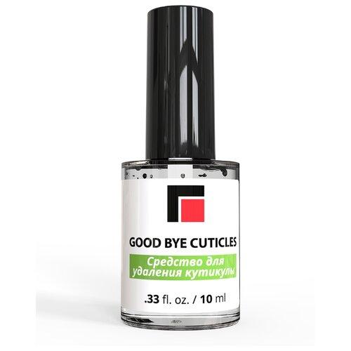 Средство для удаления кутикулы Good Bye Cuticles (кисточка) MILV, 10 мл