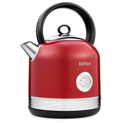 Чайник Kitfort КТ-682, красный