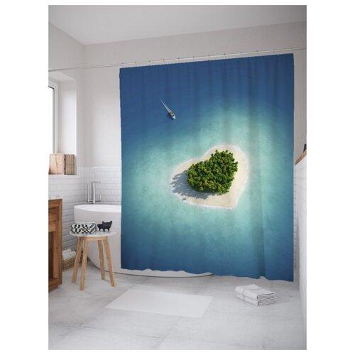 Фото - Штора для ванной JoyArty Остров любви 180х200 (sc-91946) юрий нагибин остров любви