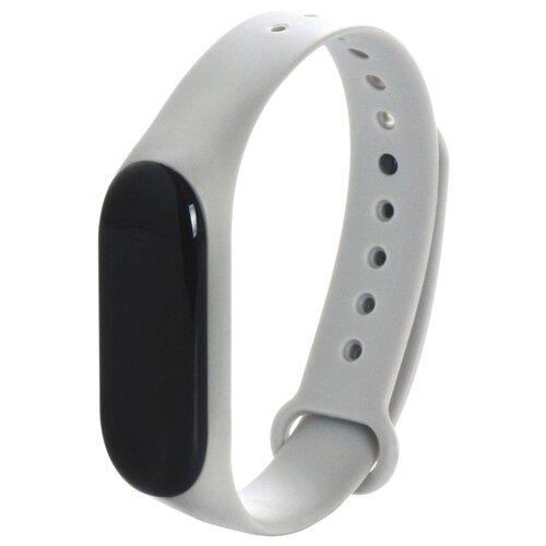 Gurdini Ремешок силиконовый для Xiaomi Mi Band 3 серый