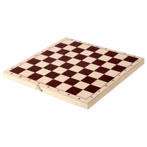 ОРЛОВСКАЯ ЛАДЬЯ Доска шахматная обиходная лакированная P-8
