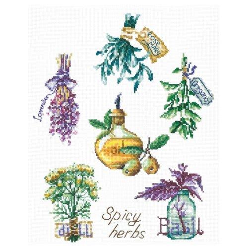 Купить Сделай своими руками Набор для вышивания Пряные травы 24.5 x 30 см (П-46), Наборы для вышивания
