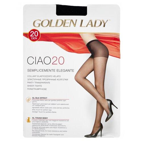 Колготки Golden Lady Ciao 20 den, размер 5-XL, nero (черный) колготки golden lady ciao 20 den размер 3 m nero черный