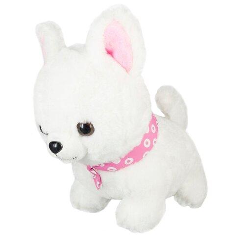 Купить Мягкая игрушка Dolemikki Щенок с розовой банданой 32 см, Мягкие игрушки