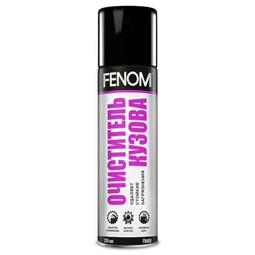 Очиститель кузова FENOM FN408, 0.34 л очиститель кузова fenom fn 408