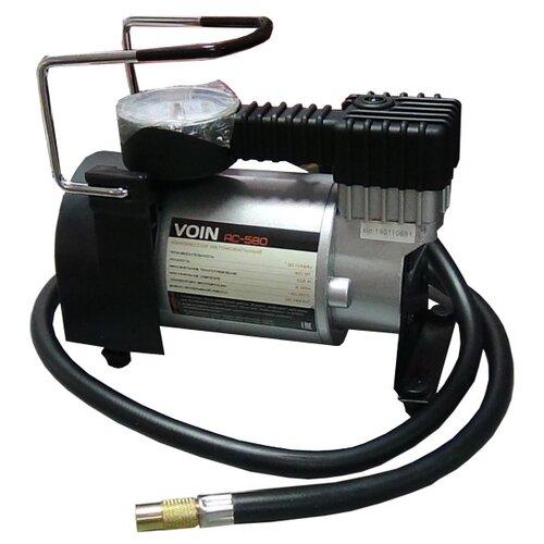 Автомобильный компрессор Voin АС-580 черный/серебристый