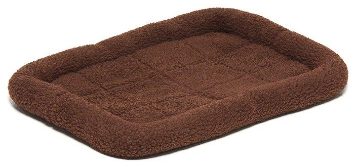 Лежак для собак ZooOne 6102 58х41х7.5 см коричневый