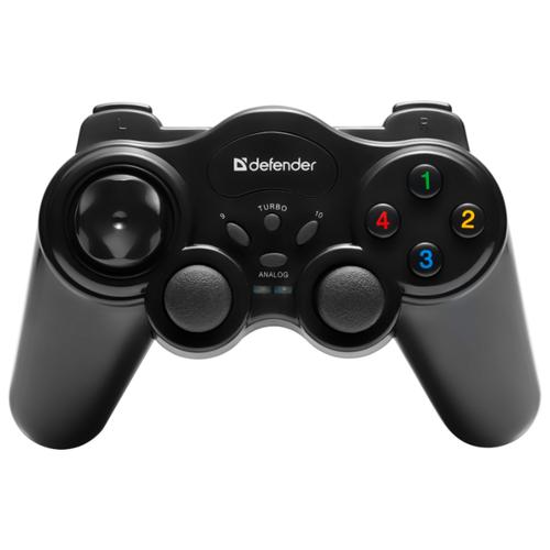 Геймпад Defender Game Master Wireless черный геймпад defender zoom серый