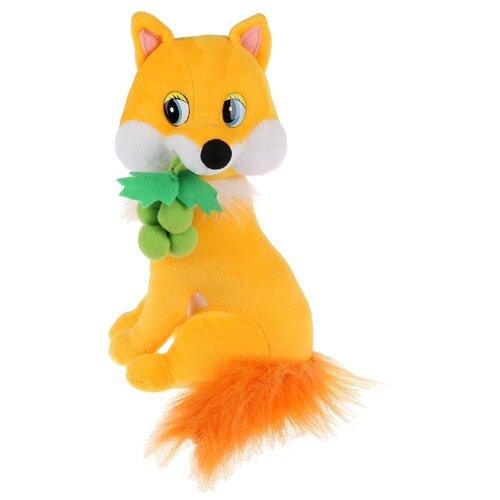 Купить Мягкая игрушка Мульти-Пульти Лисичка с виноградом озвученная 22 см, Мягкие игрушки