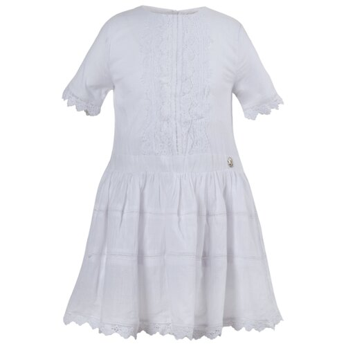 Платье Stefania Pinyagina размер 98, белый