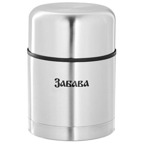Термос для еды Забава РК-0504М, 0.5 л серебристый