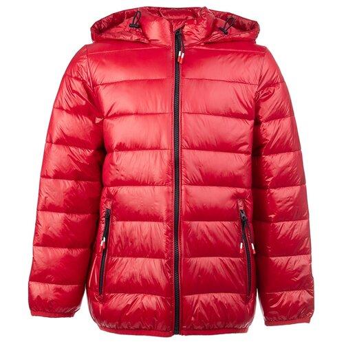 Купить Куртка playToday Classic 2020 22011071 размер 152, красный, Куртки и пуховики